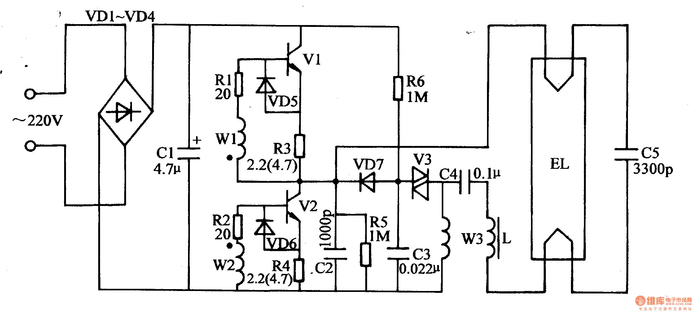 Circuit Diagram Electronic Ballast Tube Light 20 16 Danishfashion