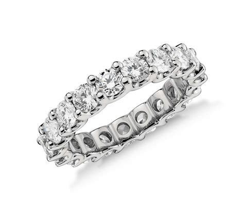 Luna Diamond Eternity Ring ? Platinum ? Ethos Canada