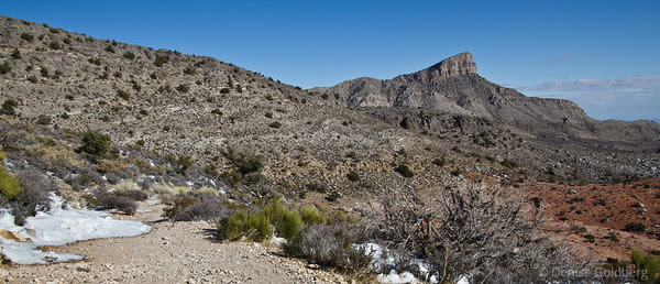 hiking the Keystone Thrust Trail, Red Rock Canyon National Conservation Area