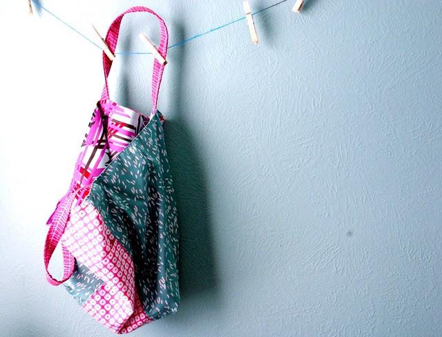Jill's first sewing