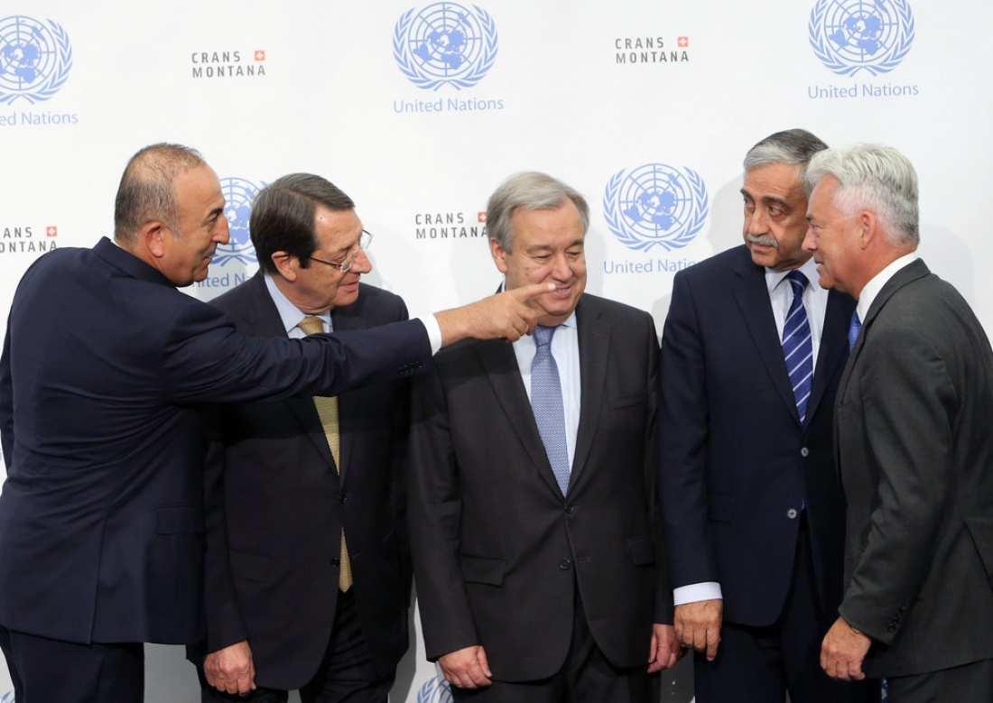 Σε αδιέξοδο οι συνομιλίες για το Κυπριακό με ευθύνη της Τουρκίας