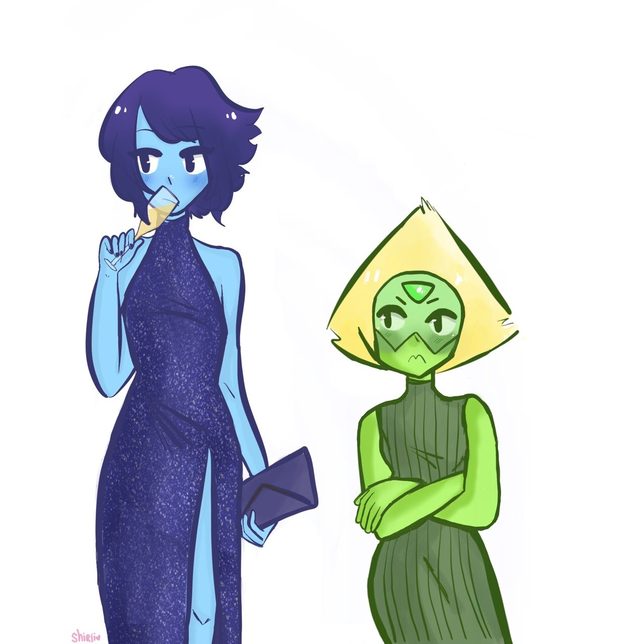 fancy gfs 💙💚