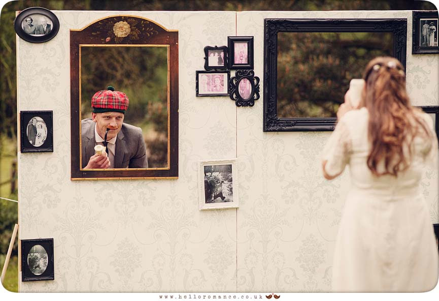 Funny photo wall wedding photos photo frame wall - Hello Romance