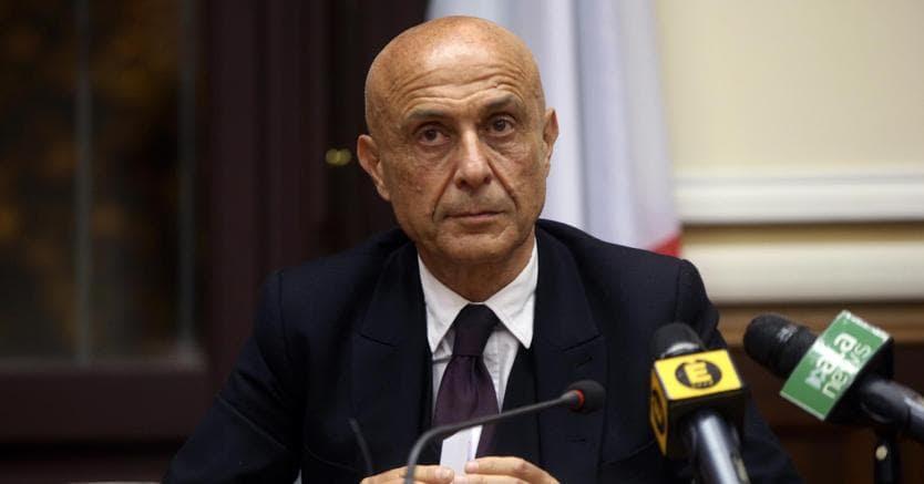 Il ministro dell'Interno, Marco Minniti (Ansa)