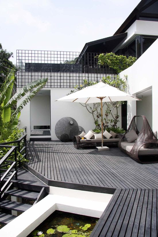 Backyard punt disseny de Servei d'habitacions a Los Angeles