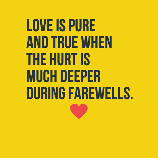 Quotes About Love Goodbye 68 Quotes