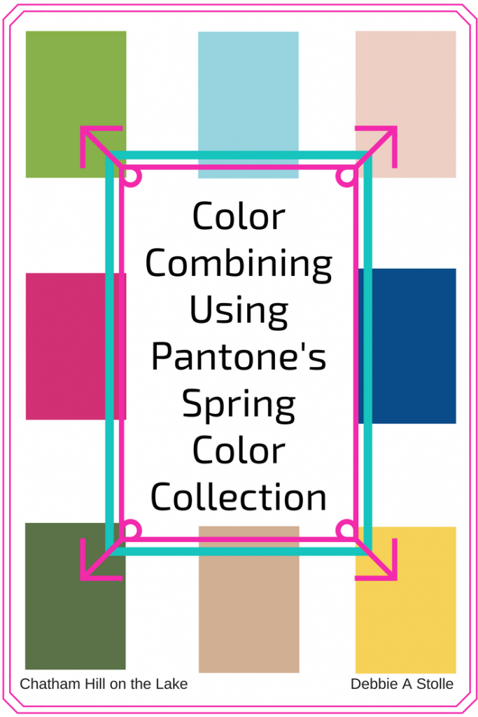 Color Combining Using Pantone's Spring Color Collection