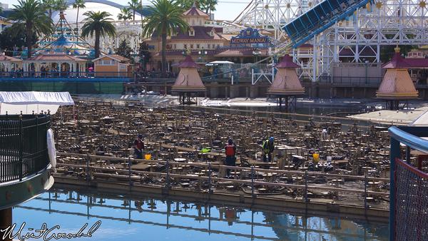 Disneyland Resort, Disney California Adventure, Paradise Pier, World of Color, Refurbishment, Refurbish, Refurb