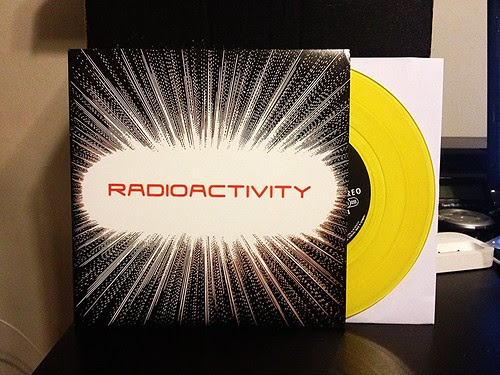"Radioactivity - Back To Me 7"" - Yellow Vinyl (/100) by Tim PopKid"