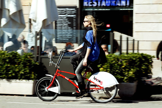 bicing girl