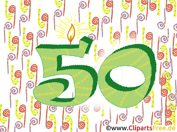 Karte Zum Geburtstag 50
