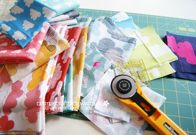 Cutting cloud fabric