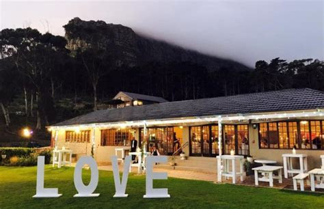 Suikerbossie Restaurant Wedding and Function Venue in Hout