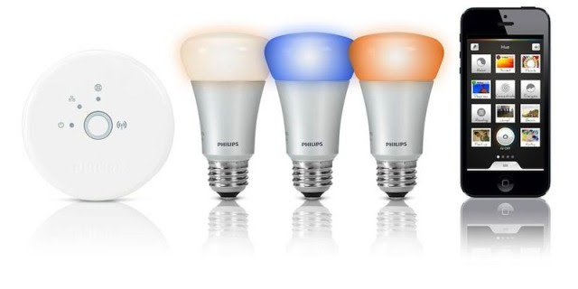 The Phillips Hue smart lights are one of a number of companies letting you control your home lights with your iPhone.