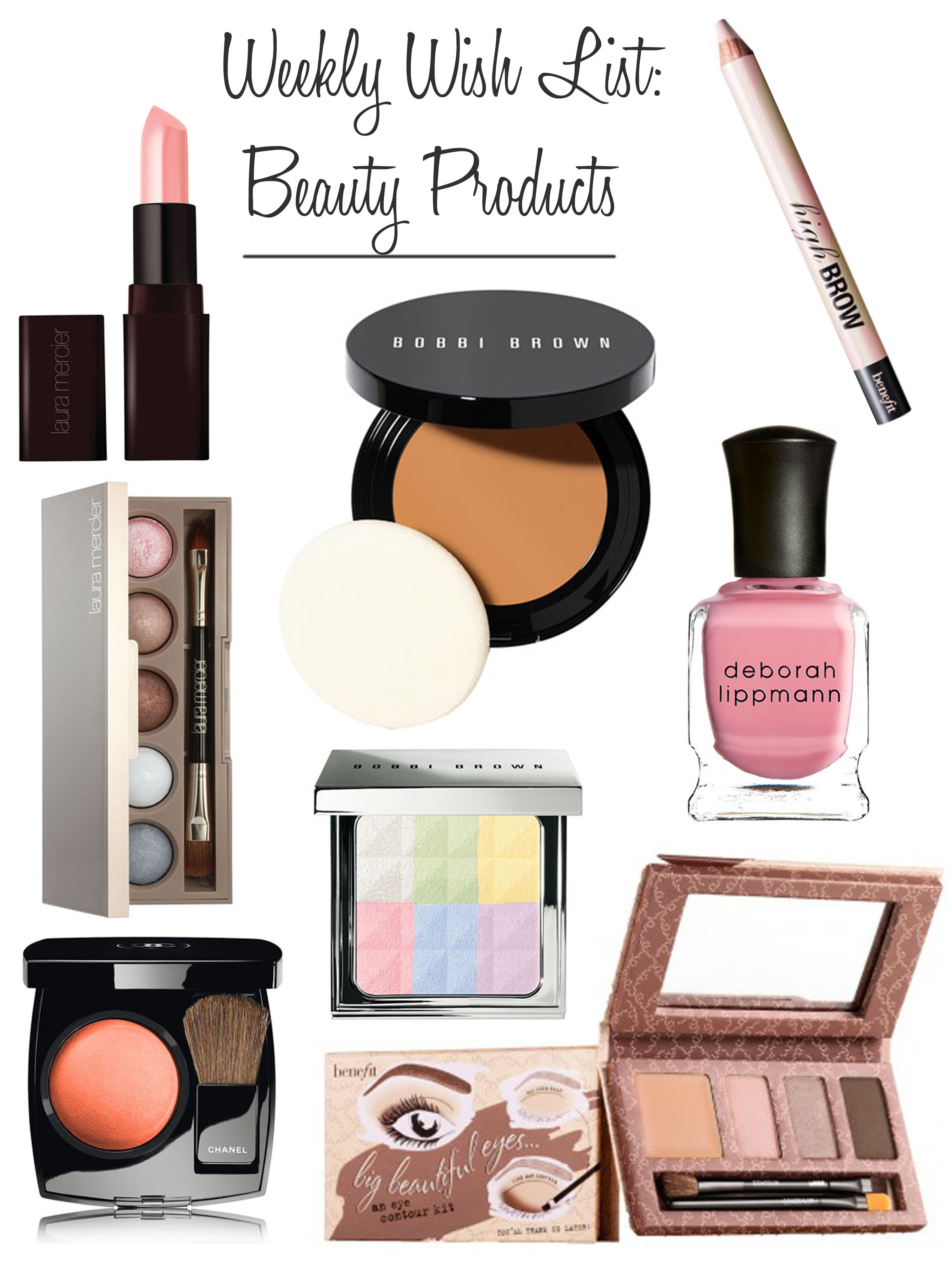 Weekly Wish List: Beauty Products