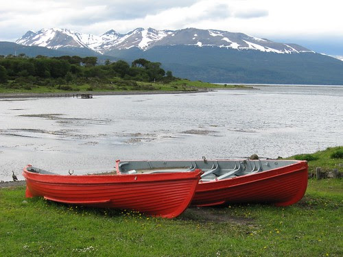 Puerto Williams dinghies