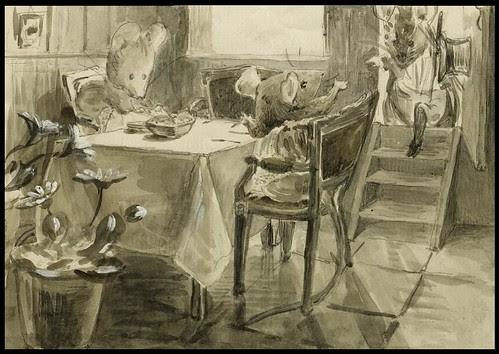 Dinner in Mouseland