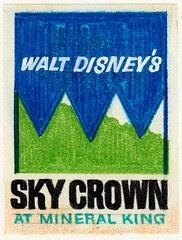 "Walt Disney's ""Sky Crown"" Logo 2"