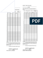 Civil Service Form No 48