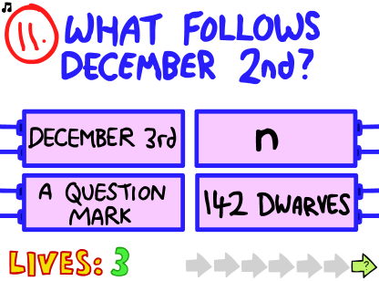 Question 11 | The Impossible Quiz Wiki | FANDOM powered by ...
