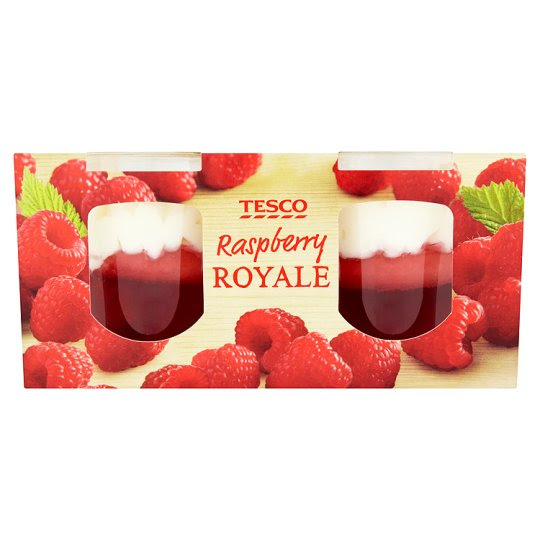 Tesco Twin Pack Raspberry Royale 200G