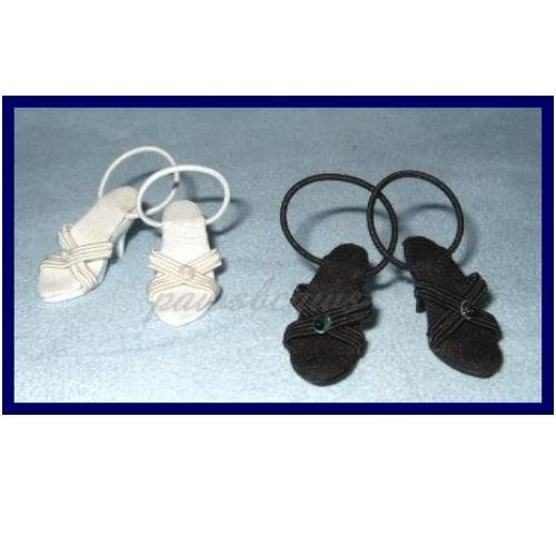 White Tonner Doll Shoes Cissette Alex Cissy Coquette Tiny Kitty 10 In High Heel