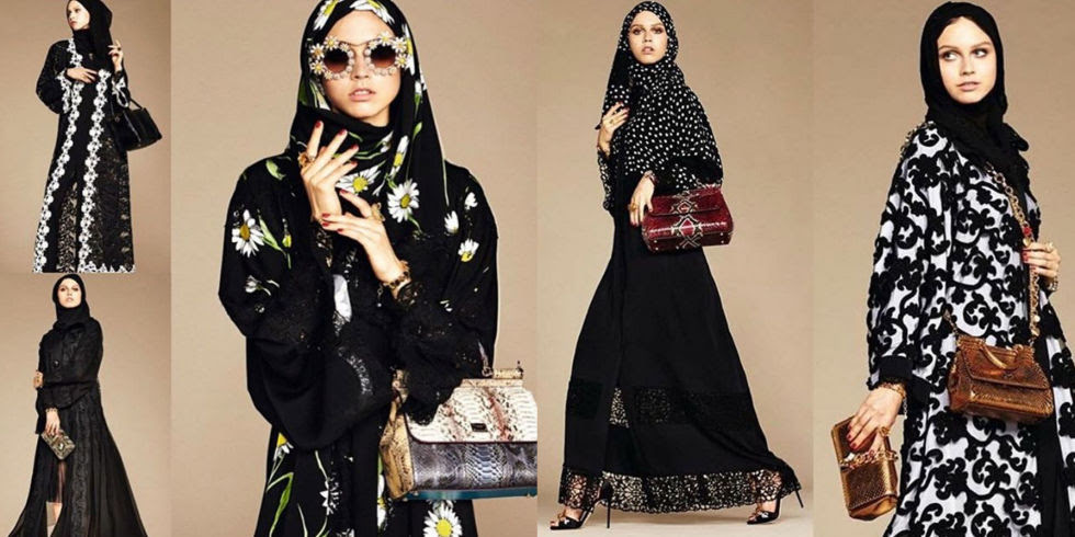 Dolce & Gabbana Introduces a Collection of Hijabs and Abayas