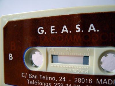 cassette retocado geasa