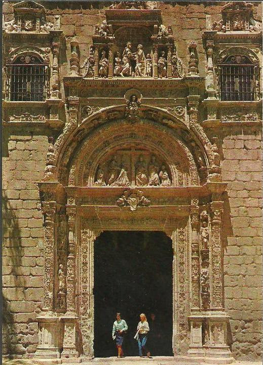 Museo de Santa Cruz a mediados del siglo XX