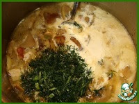 Бархатный грибной суп ингредиенты