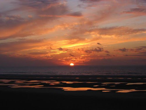 Blackpool Sunset 2003