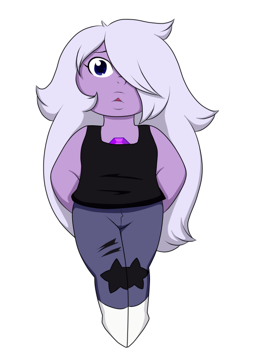 I colored that sketch of amethyst