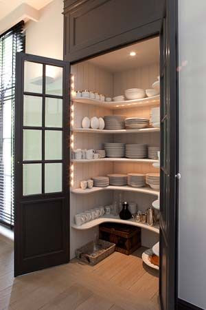 lovely kitchen pantry