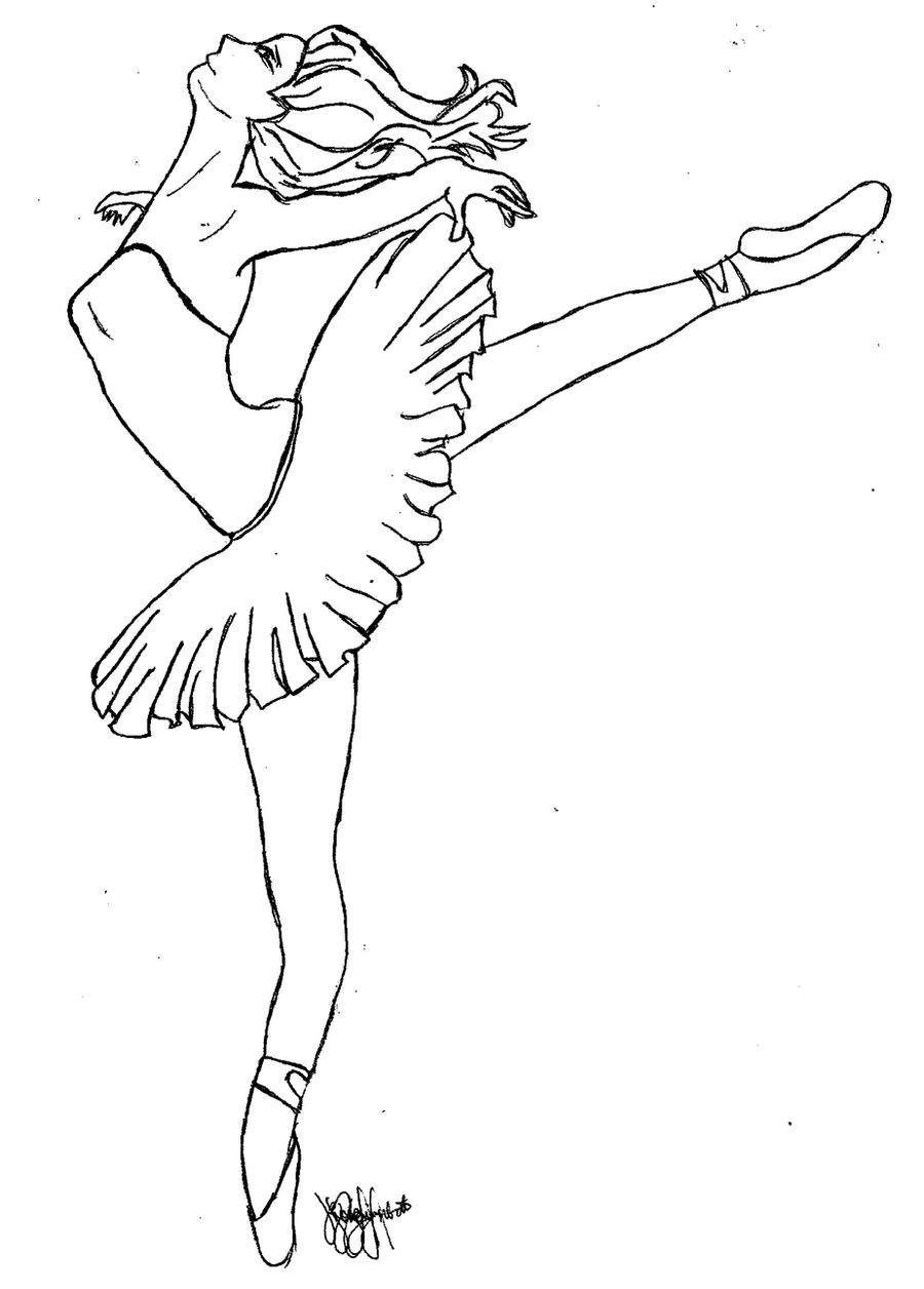 Più Recente Immagini Da Colorare Di Ballerine Disegni Da Colorare