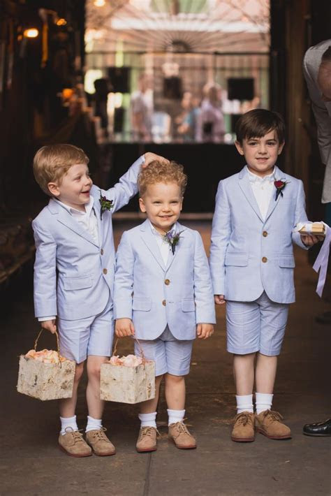 Seersucker Boys' Suits   Flower Girls & Ring Bearers in