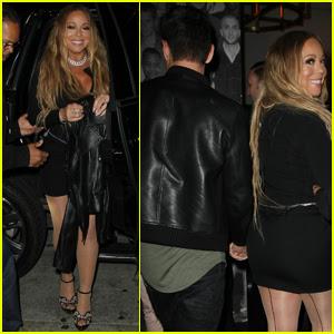 Mariah Carey Has Another Night Out With Bryan Tanaka!
