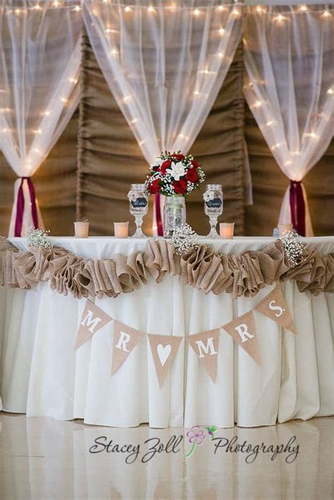 14 beautiful DIY burlap wedding decorations you should try