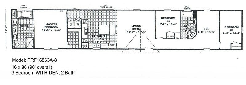 Elegant Single Wide Mobile Home Floor Plans and Pictures ...