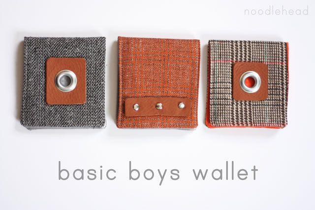 Noodlehead: basic boys wallet