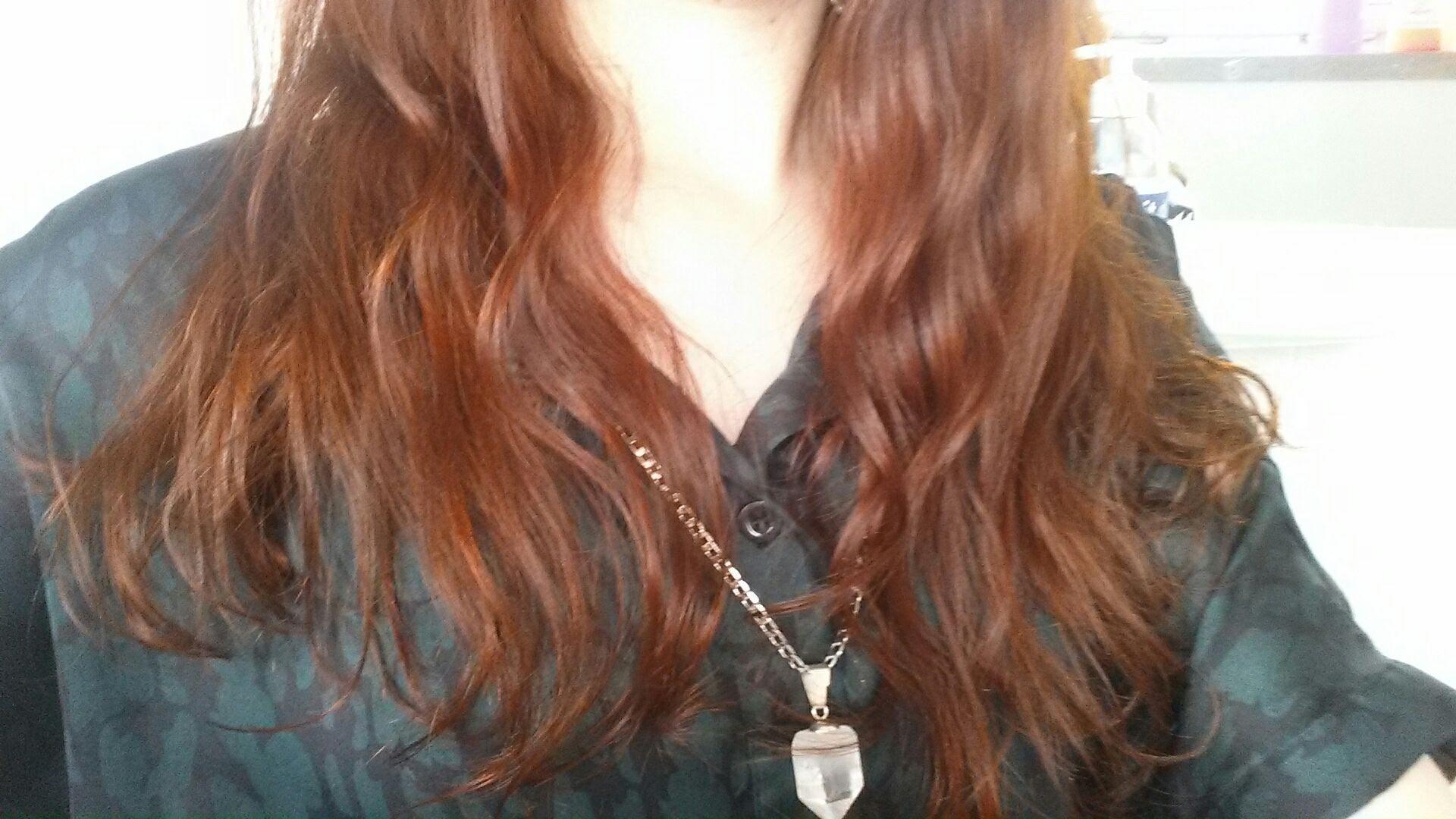 Henna Haarfarbe Verbesserungsversuch Mit Panthenol Haarbegeistert