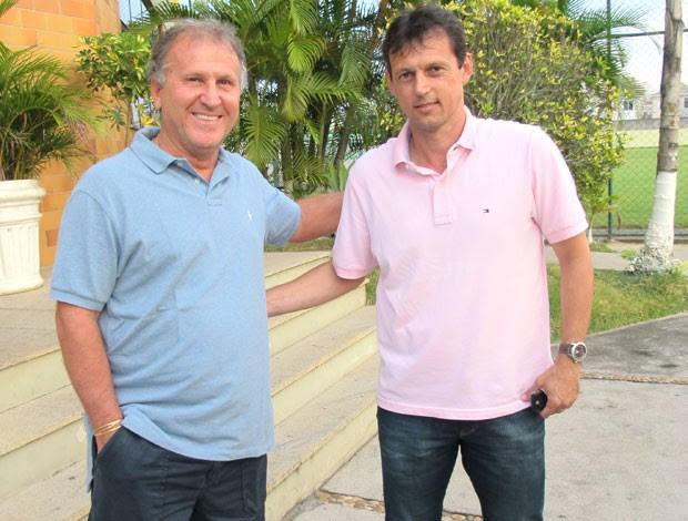 zico e Sorato, Cfz (Foto: André Casado / Globoesporte.com)