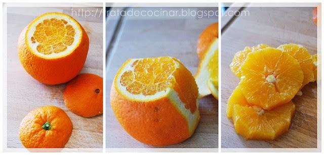 Corte naranja
