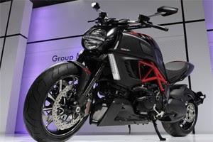 Ducati Diavel (Foto: Caio Kenki/G1)