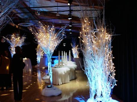 Winter Wonderland Themed Wedding Decor   Greenscape Design