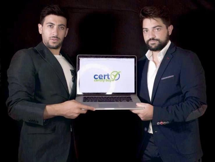 """Risultati immagini per start-up contro le truffe in rete """"Certy"""