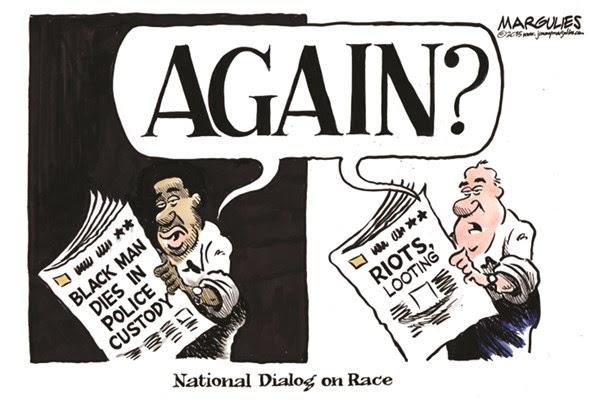 Image result for black riots cartoons