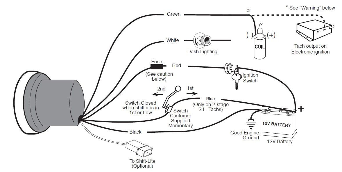 Suntune Tachometer Wiring Diagram