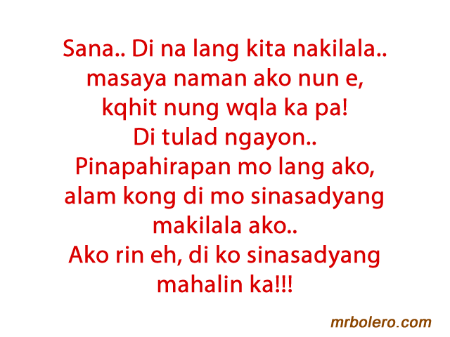 Love Quotes Tagalog Away Bati: Quotes on missing someone u love.