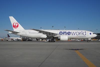 JAL-Japan Airlines Boeing 777-246 ER JA708J (msn 32895) YYZ (TMK Photography). Image: 909378.