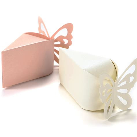 butterfly candy boxes gift favors cake style